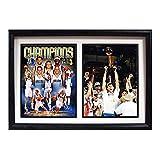 Encore Select 122-07 NBA 达拉斯小牛队双框 2011 NBA 冠军 Dirk Nowitzki 印花,30.48 厘米 x 45.72 厘米