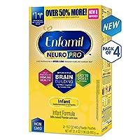 Enfamil NeuroPro婴儿奶粉 盒装,31.4盎司(890g)(4件装)