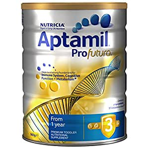 Aptamil 澳洲爱他美 Profutura 白金版婴幼儿奶粉3段900g 1岁及以上 包邮包税【跨境自营】