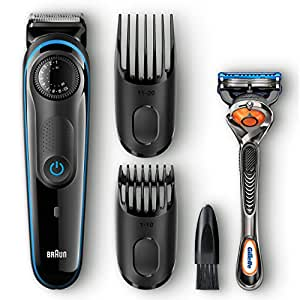 Braun BT3040 Beard / Hair Trimmer for Men - Ultimate precision for 100% control of your style