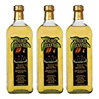 Kinloch Plantation Products Pecan Oil, Three (3) 1000 ML Bottles