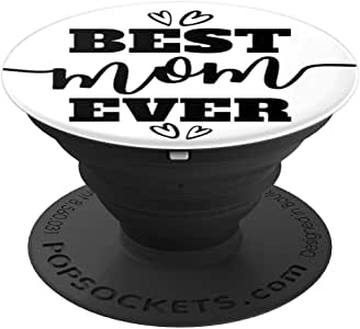 Best Mom Ever Script on 白色 PACV001a260027  黑色