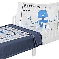 3 件套 RoomCraft 机器人幼儿床上用品套装 Bedtime Bots 幼儿