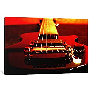 iCanvasART 32-1PC3-26x18 Electric Guitar Canvas Print by Unknown Artist, 0.75 x 26 x 18-Inch
