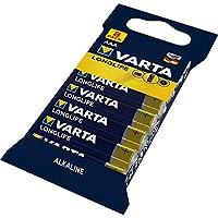 Varta瓦尔塔 Longlife 电池 C Baby 碱性电池 Blau, Gold AAA Micro 8er Pack