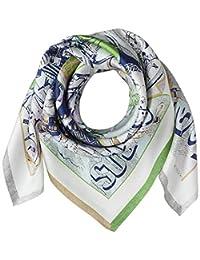 [光束 设计] 围巾 丝绸 * 50606502B 日本 64cm×64cm (FREE サイズ)