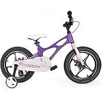 ROYALBABY 优贝 14寸儿童自行车星际飞车紫色4-8岁镁合金萌宝礼物(亚马逊自营商品, 由供应商配送)