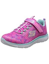 Skechers 斯凯奇 SKECHERS GIRLS系列 女童 时尚魔术贴网布舒适休闲运动鞋 81679