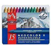 米朗什達經典·Neocolor  II 水溶性蠟筆,15種顏料
