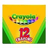 Crayola *蜡笔罐(12 只装) 标准 混色