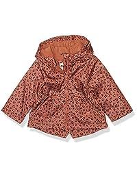 Osh Kosh 女婴中等重量抓绒内衬连帽外套