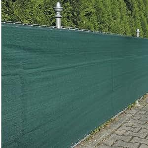 篱笆遮盖布 绿色 包括12米,紧固绳180 克 / 米 1.5 x 5 m
