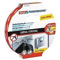 tesa 德莎 德国进口 强力超强双面自粘型安装胶带 尺寸为5m*19mm