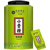 七彩云南 新会小青柑 柑普茶 桔普茶 普洱熟茶叶 宫廷熟茶 350克