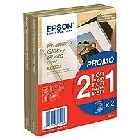 EPSON 优质光面相纸喷墨 255g/m2(A6 纸 100x150mm)2x40 张 1 包