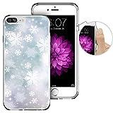 iPhone 8PLUS 手机壳圣诞苹果7Plus 手机壳 laaco 美丽透明 TPU 手机壳橡胶硅胶苹果15.4英寸 iphone 8PLUS ( 2017) / iphone 7Plus ( 2016)–可爱小企鹅冬季 Chris-3