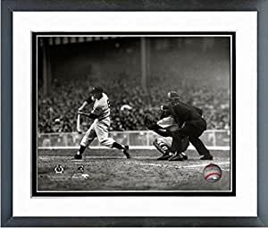 Mickey Mantle 纽约洋基队带框 MLB 照片(尺寸:31.75 厘米 x 39.37 厘米)
