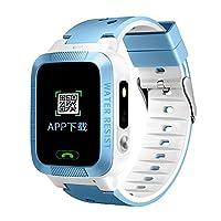 蓝枫 防水款儿童电话手表 远程拍照节能LED手电筒 双向通话语音微聊SOS求救 MT-CD002 (蓝色)