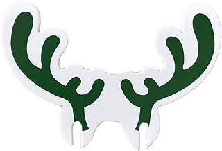 圣诞假期圣诞老人驯鹿雪人酒杯马克笔适用于派对和活动(*驯鹿鹿)