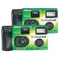 FUJIFILM quicksnap Flash 400single-use 相机与 Flash (2件装) 制造商已停产