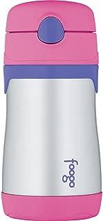 THERMOS 膳魔師 FOOGO真空絕緣不銹鋼 10盎司(286g)粉色/紫色