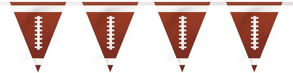 Soccer 餐盘 棕色/白色 14'