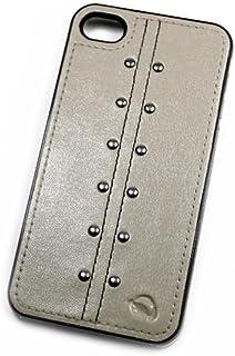 So'axess BCAAPIPH4-82 后盖带内饰螺柱适用于 iPhone 4S 皮革沙子