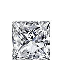 GIA Certified Princess-Cut White Diamond Loose Gemstone (1.0cttw, G-H Color, SI2 Clarity)