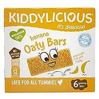 kiddylicious 香蕉燕麥棒,20 克 x 6(6 件裝)