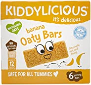 kiddylicious 香蕉燕麦棒,20 克 x 6(6 件装)