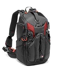 Manfrotto 单反相机双肩包 Pro Light 收藏 スリングバックパック 滤清器套包括三脚安装可 PC 太空有黑色  黑 15L