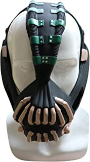 CAFELE 成人 Bane 面具 仿制 PVC 面具 万圣节 角色扮演 *