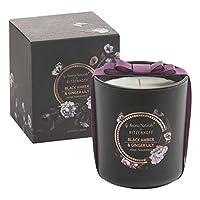 RITZENHOFF Aroma Naturals Noir 香薰蜡烛,黑色 琥珀 & Ginger Lily,礼品包装