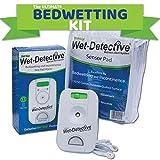 Wet Detective 尿床套装、*和入床报警系统,包括 1 个传感器垫