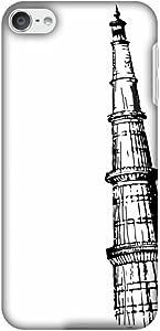 Amzer 修身款手工设计师印花扣合硬壳后盖带屏幕清洁套件皮肤适用于 iPod touch 6 代AMZ601040173285 Autum Minar