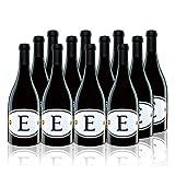 【亚马逊直采】Locations 洛珂轩 E- Spanish Red Wine 西班牙臻品红葡萄酒 2014 750ml*12(亚马逊进口直采红酒,西班牙品牌)自营精选