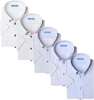 Atelier365 襯衫套裝 短袖襯衫 5件套 形態穩定 Cool Biz 清涼商務 男士