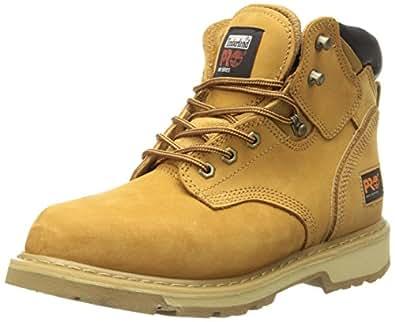 """Timberland 添柏岚 PRO 男式 Pitboss 6"""" 软靴 小麦色 7 D(M) US"""