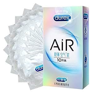 Durex 杜蕾斯 避孕套 超薄 男用 AiR 至薄幻隐装10只 成人情趣性用品 (新老包装随机发货)