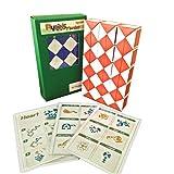UgetAll Rubik Snake 60 片装 1 块拼接拼图 随机颜色带图案设计和说明图案