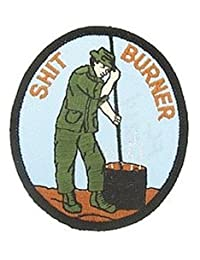 Shit Burner Small Patch