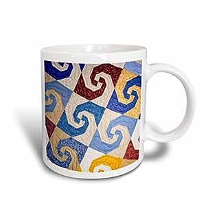 3dRose West Virginia, Beckley Tamarac, Quilt Textile, Walter Bibikow, Ceramic Mug, 11-Oz