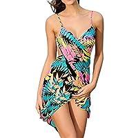 Simplicity 女式細肩帶露背海灘連衣裙/比基尼包裹,露背