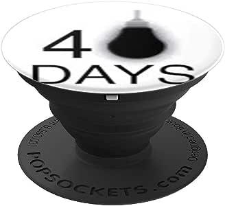 educPTHEPROCESS PopSockets 手机和平板电脑握架260027  黑色