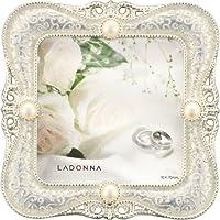 Ladonna 婚庆镜框金属白色 mj45WH ミニサイズ
