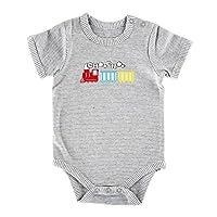 Stephan Baby 运输系列灰色条纹按扣式尿布套,火车,0-3 个月