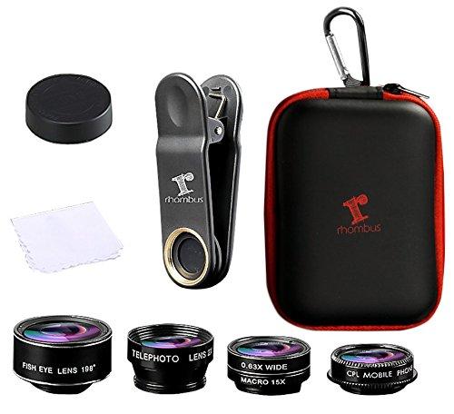 取付金具レバー迅速ロックに付属のマイク音楽財団は、AppleのiPad ProのエアミニギャラクシータブS9注iPhone XR XS MAX X 8 7に適用されるプラスすべての7-12インチのタブレットPCやスマートフォンに適しています[PRlME DAY]カバー付きIphoneのカメラレンズキットアクセサリキット - レンズのカメラ付き携帯電話用アクセサリースマートフォンアクセサリー - ズームテレビ光魚眼撮影効果のアクセサリー -  Android(アンドロイド)6 7 8プラスX