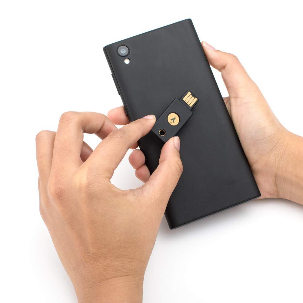YubiKey 5 双因子认证硬件密钥