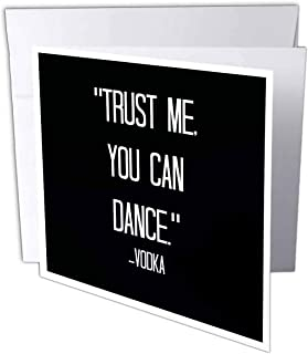 Xander 趣味引言 - Trust me you can dance Vodka - 贺卡 Individual Greeting Card