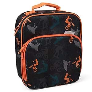 隔热耐用午餐袋 - 可重复使用的餐袋带手柄和口袋 运动 unknown